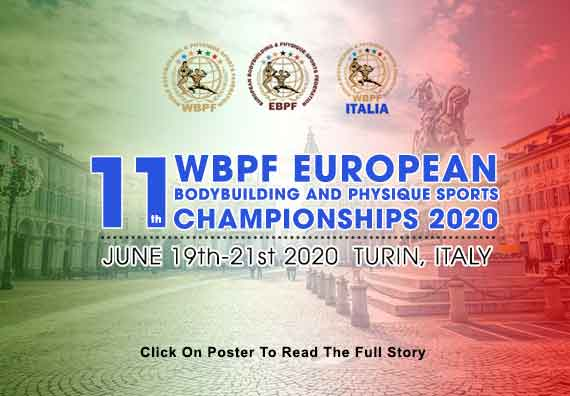 11th WBPF European Championships 2020