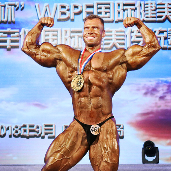 Mr. Universe 2014 - PETER MONLAR (HUNGARY)